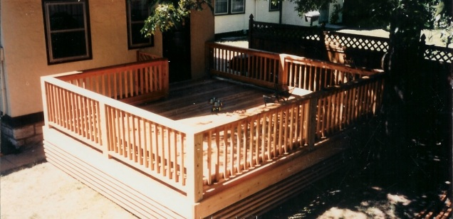 enclosed deck
