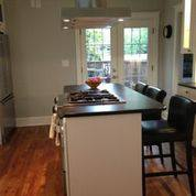 double door kitchen remodel finished