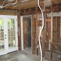 double doors for kitchen remodel