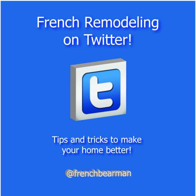 Twitter Page for French Remodeling